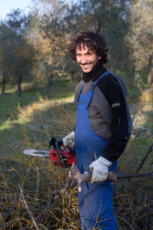 Alessio. Mondeggi, marzo 2015. © Federico Barattini