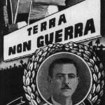 ll manifesto della CGIL per commemorare Giuseppe Novello, bracciante ucciso dai carabinieri a Montescaglioso (Matera) nel 1949