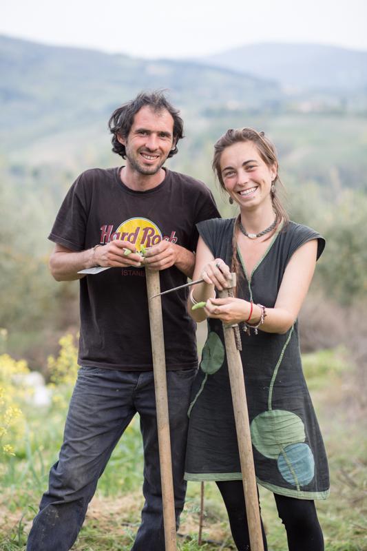 Mondeggi, Aprile 2015. Sofia e Alberto. © Federico Barattini