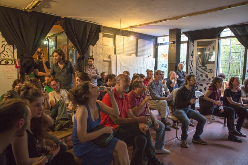 """Csa Next Emerson, maggio 2015. Corso base di sommelier durante l'evento """"Il mosto di Firenze"""". © Federico Barattini"""